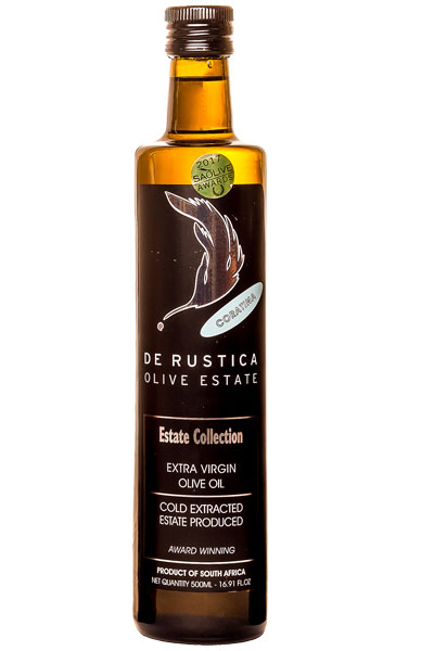 Absa Olive Oil Awards De Rustica Packshot