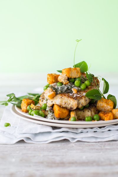 French Toast with Quorn Vegan Savoury Pieces
