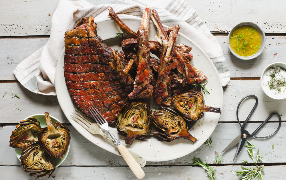 Farm To Table Cooking with Boschendal | Lamb ribs with Artichokes