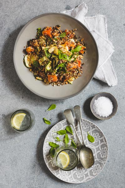 Roast Butternut & Quinoa Salad