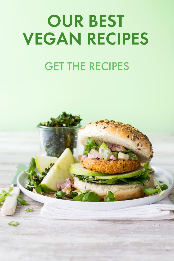 Vegan Recipe Round Up Pintrest Image