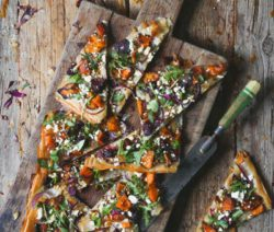 Root Vegetable Phyllo Tart
