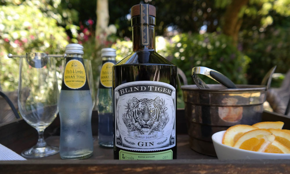 Stand out south african gin blind tiger
