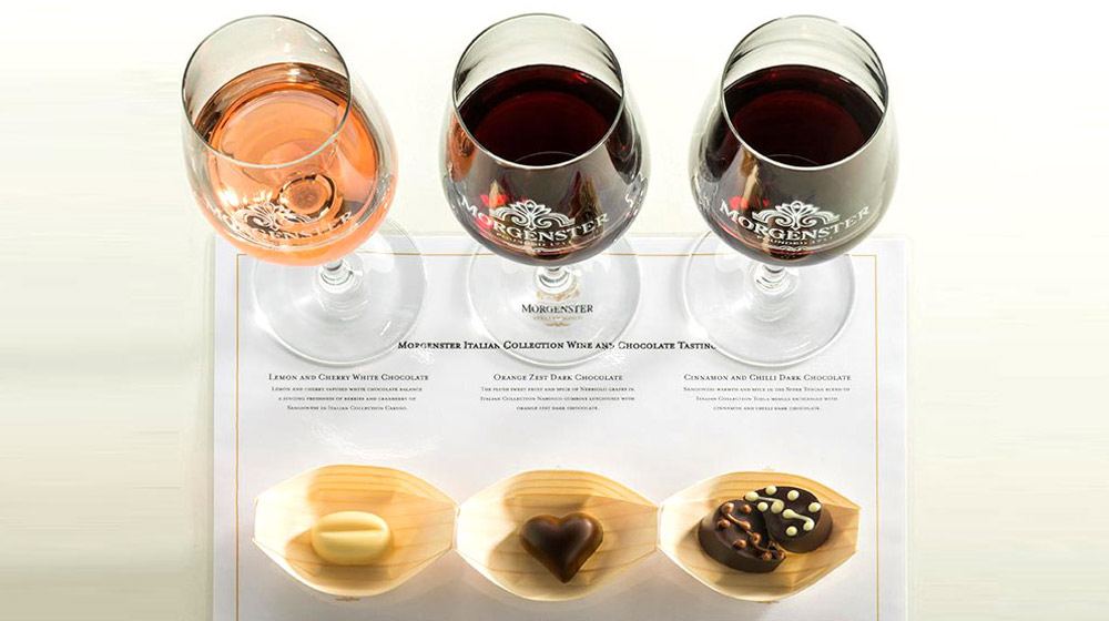 unique wine tasting pairings Morgenster-1x5
