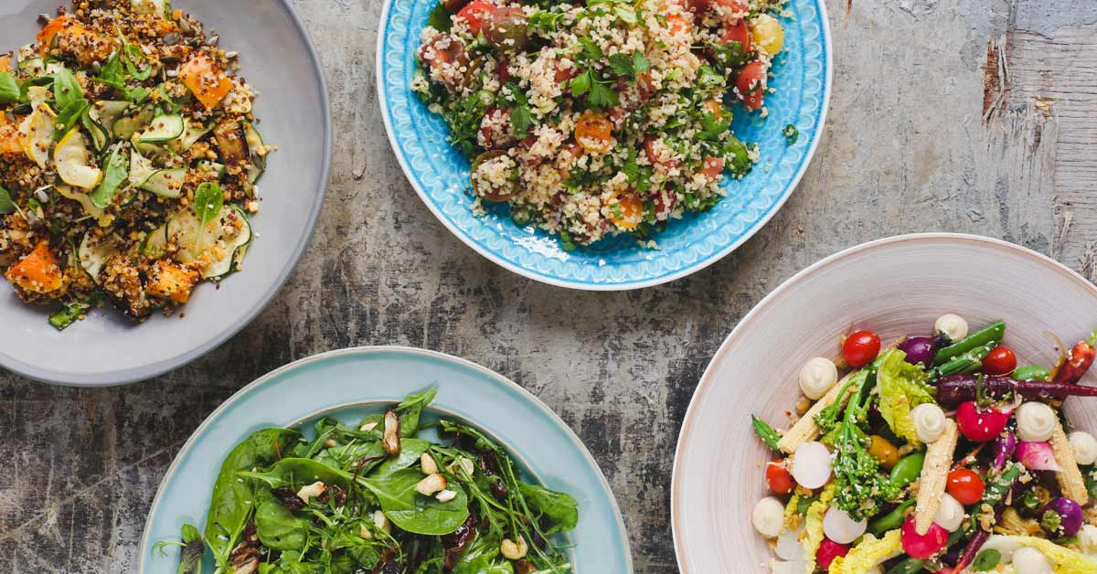 Mount Nelson Salads Grouping
