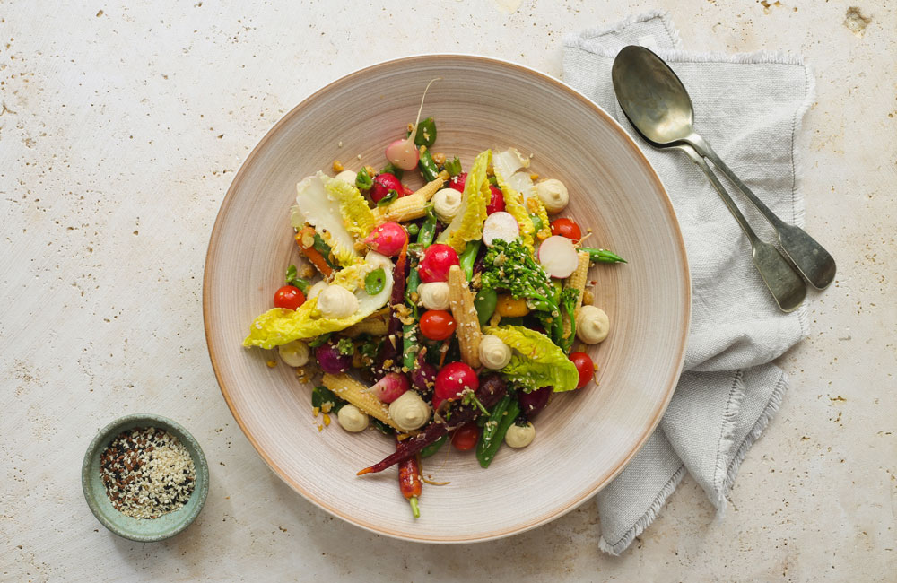 5 Easy and Healthy Summer Salads That You'll Love - Crudite Salad