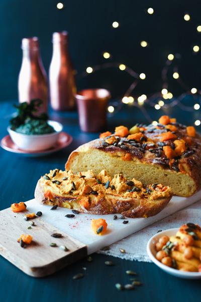 Pumpkin Sourdough Bread