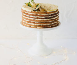 Custard Layer Cake
