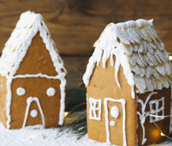 baby gingerbread house