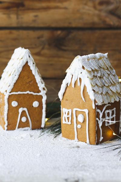 fun Christmas baking ideas Baby Gingerbread house