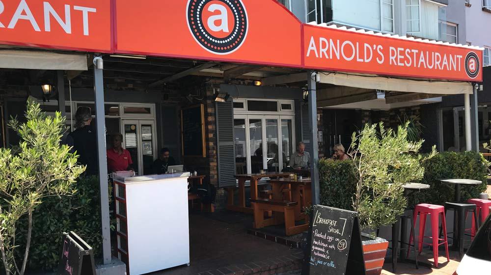 Kloof Street Restaurants Arnold's Restaurant