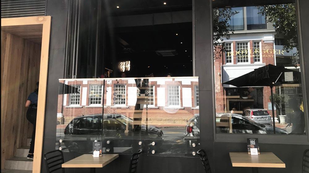 Kloof Street Restaurants Bootleggers on Kloof