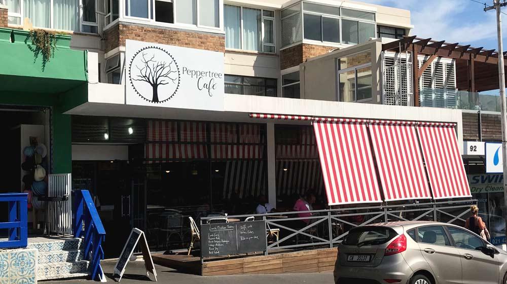 Kloof Street Restaurants Peppertree Cafe