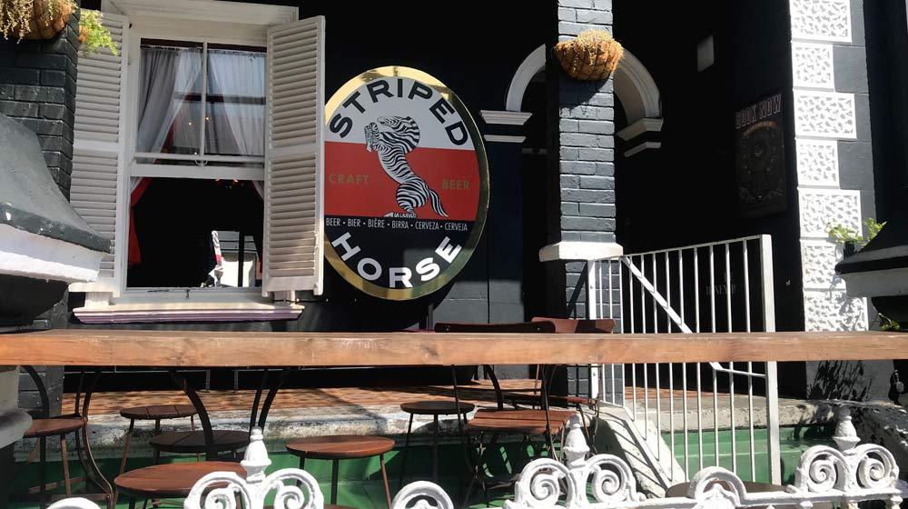Kloof Street Restaurants Striped Horse