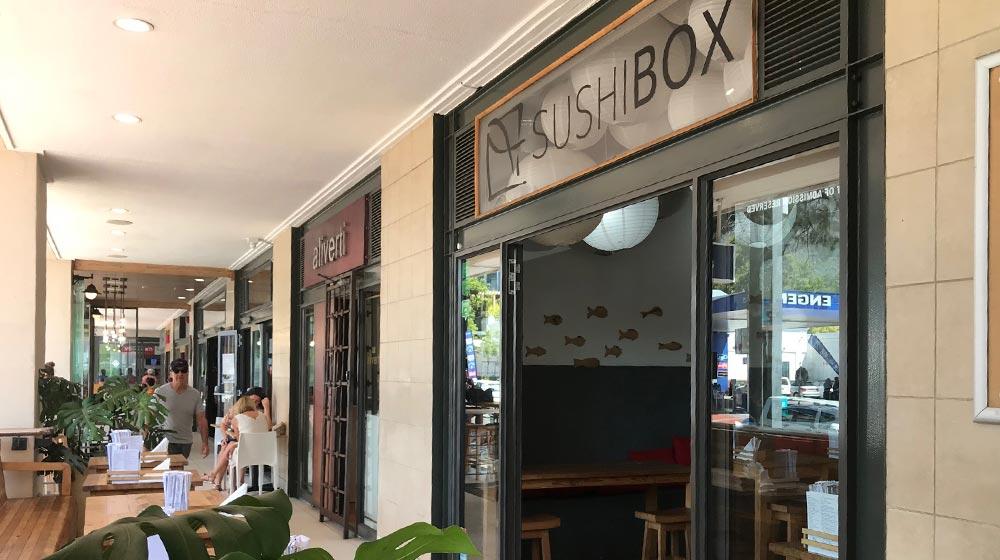 Kloof Street Restaurants Sushi Box