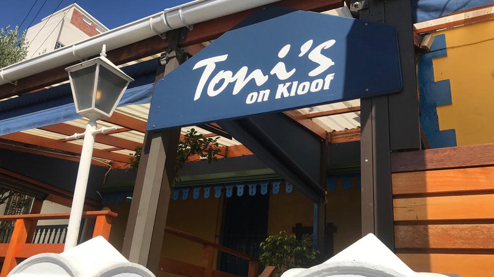 Toni's on Kloof