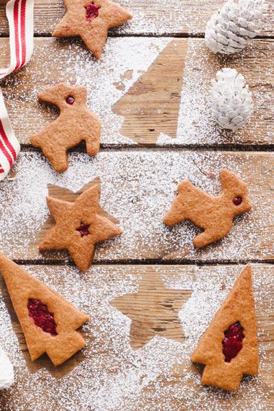 fun Christmas baking ideas Christmas Raspberry Jolly Jammers