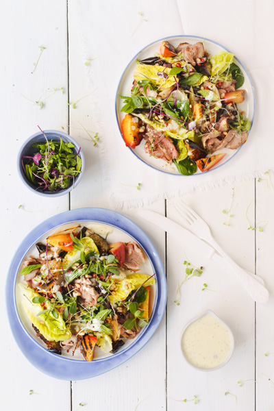 What to do with Christmas Leftovers| Lamb Salad