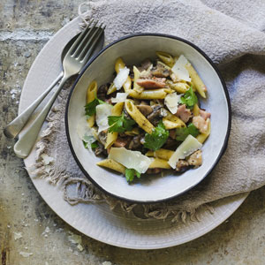 penne-pasta-with-gammon
