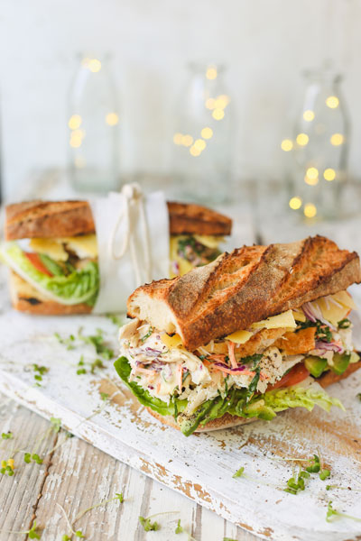 What to do with Christmas Leftovers: Turkey Sandwich