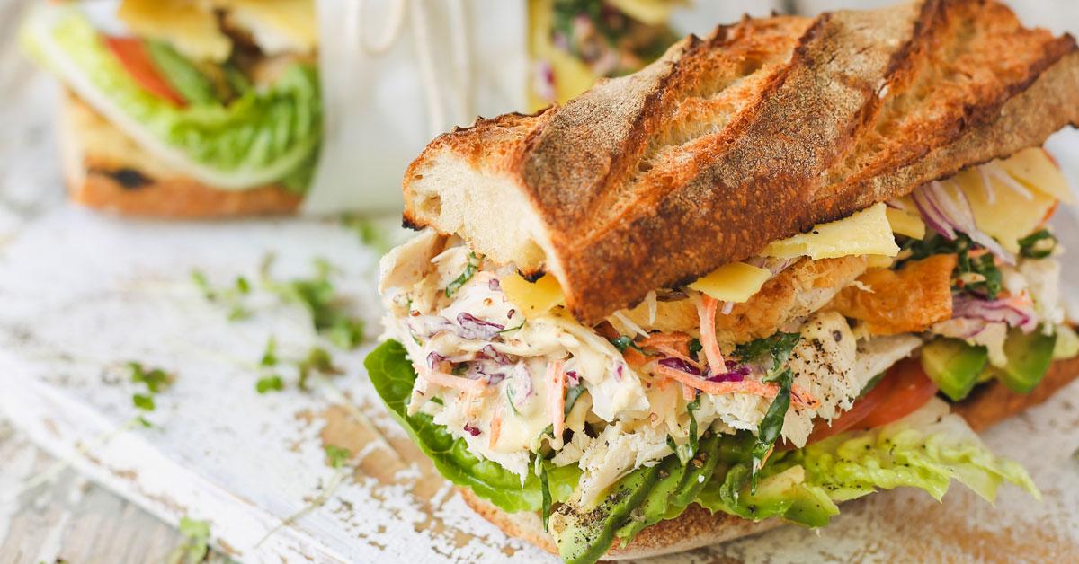 Ultimate turkey leftover sandwich crush magazine online for Leftover shredded turkey sandwiches
