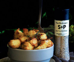 salt & pepper roast potatoes