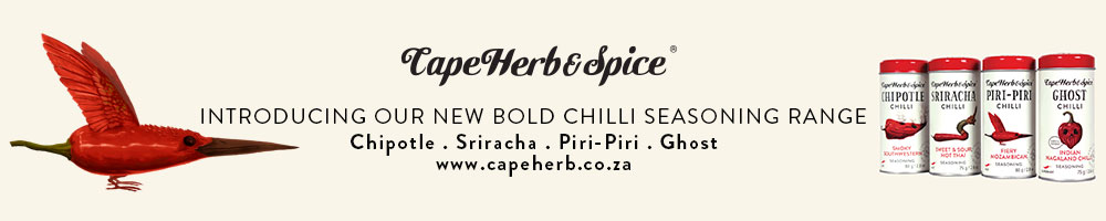 Cape Herb & Spices Different Types of Chillies Banner