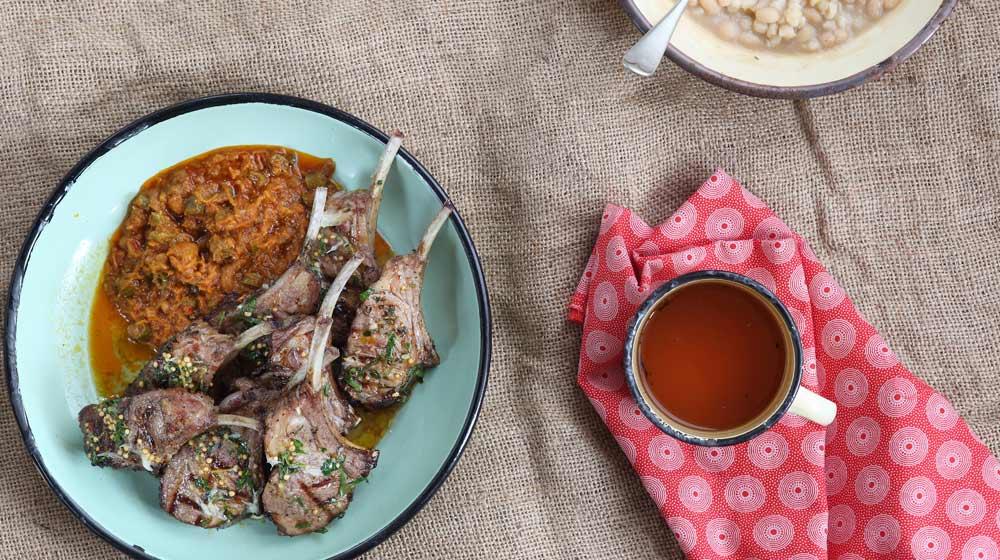 local cuisine samp and beans