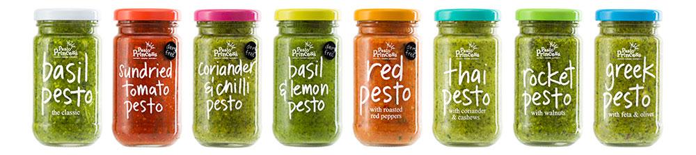 Pesto Princess Colour Lids