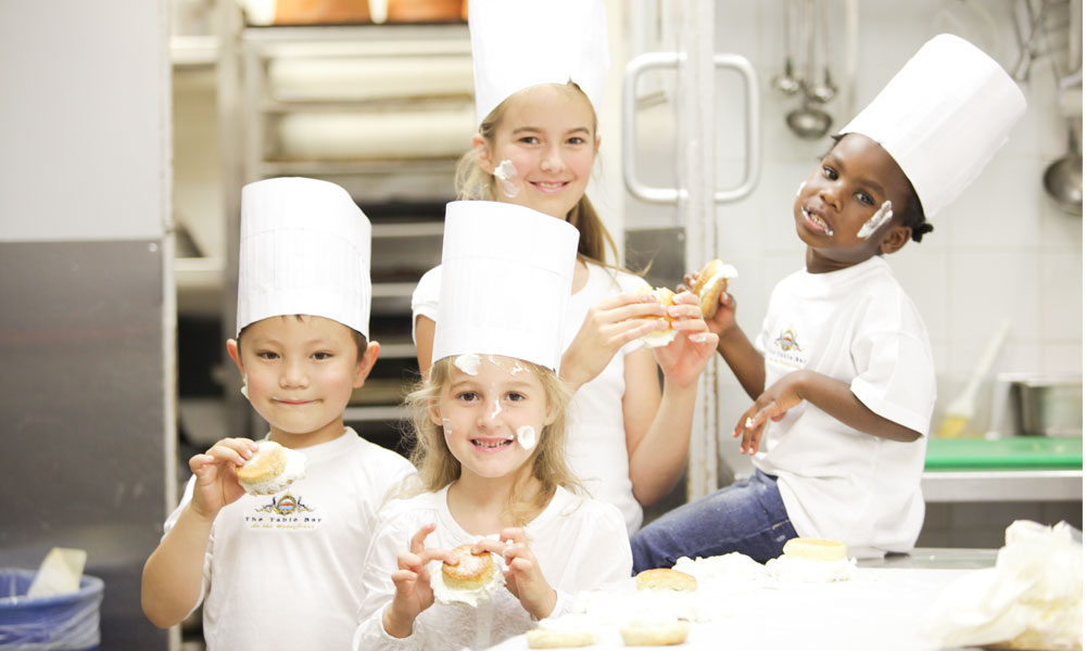 mini chefs birthday parties