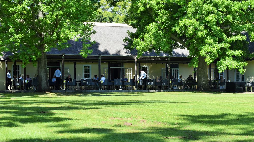 Winelands restaurants Sunday lunch - Vergelegen