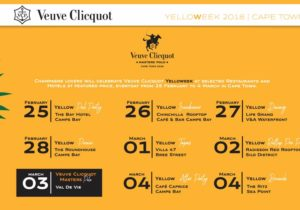 Veuve Clicquot Yelloweek 2018