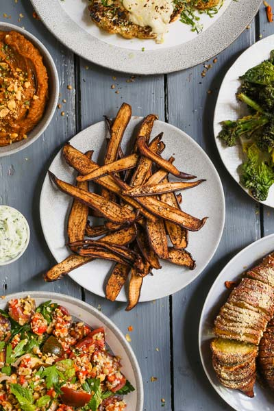 vegan recipes for a Vegan Dinner Party