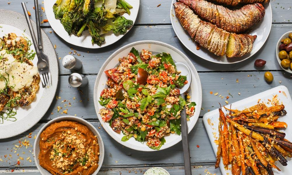 vegan recipes Vegan Dinner Party