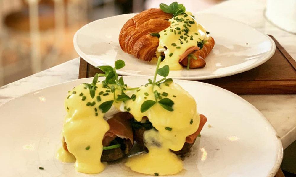 eggs benedict in Cape Town