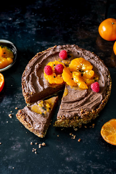 ClemenGold Chocolate Mousse Tart