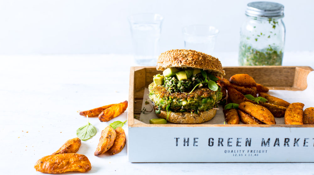 Findus Green Vegan Burger