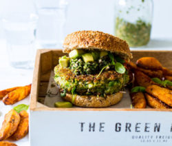 Green Vegan Burger