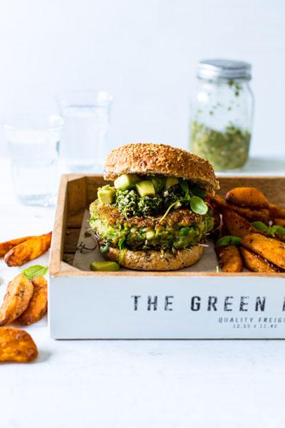 recipes for dad vegan burger