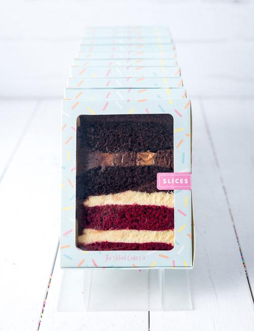 The Velvet Cake Co. Slices best of both