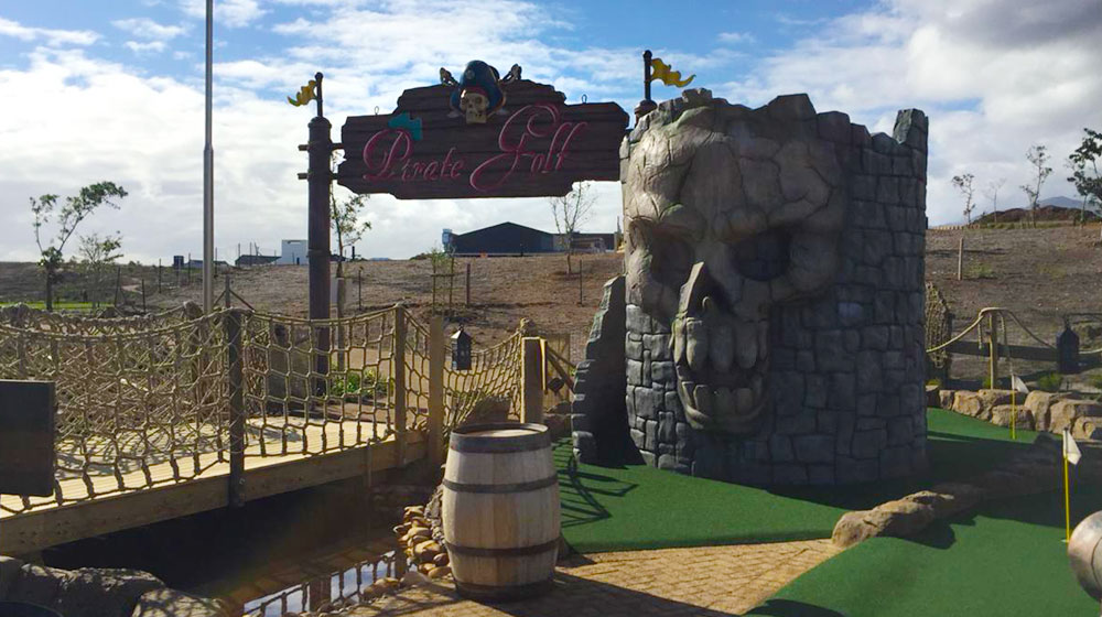 Adventure Pirate Golf at Benguela Cove