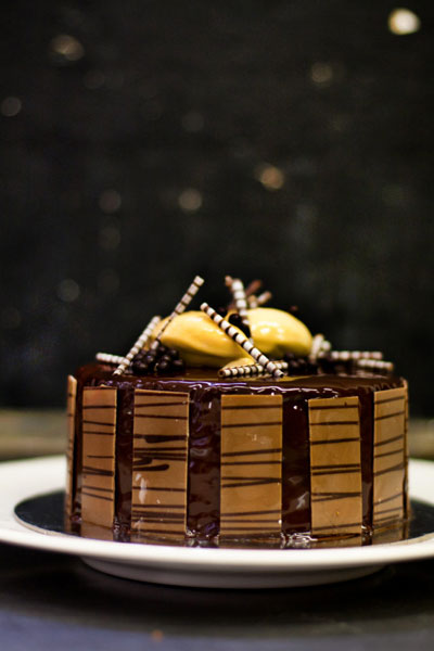 'Sacher Torte' Mount Nelson style, an oh so heavenly chocolate delight!