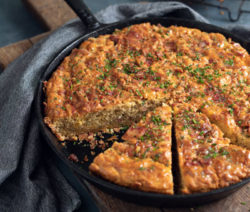 bacon cheese chive cornbread