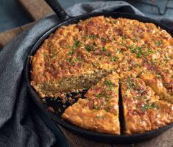 bacon cheese chive cornbread
