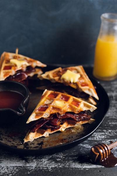 waffle & Bacon