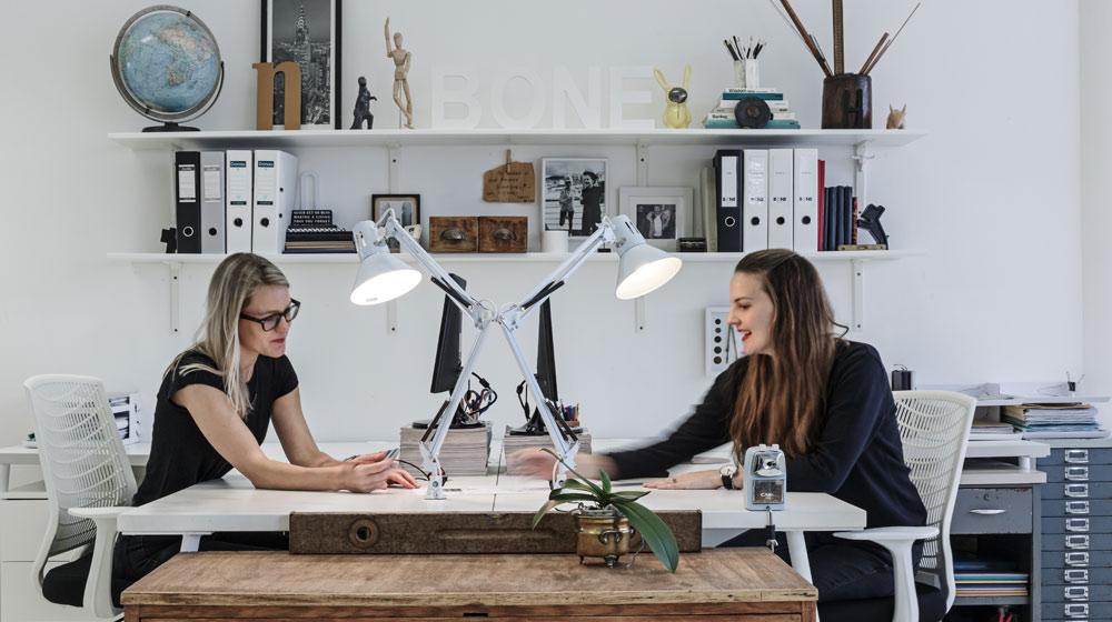 Bone Studio Hayley & Nicola