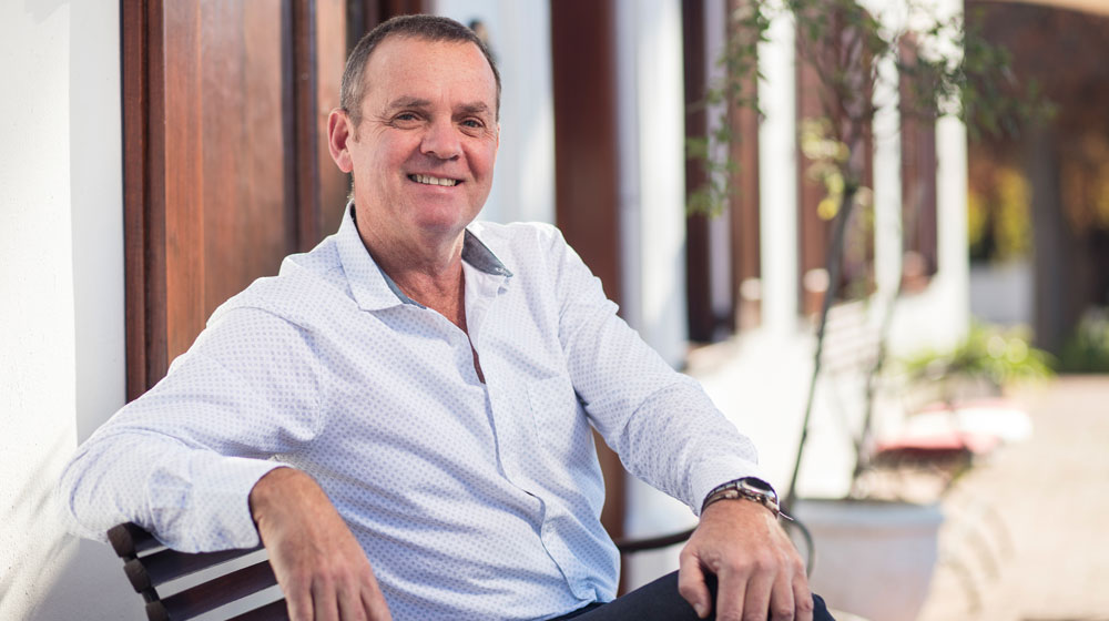 Neil Bester Plaisir de Merle winemaker