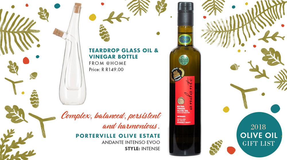 Olive Oil Gift List