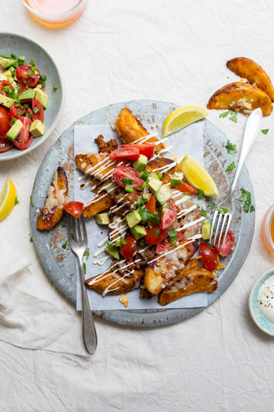 Loaded Mexican Potato Wedges