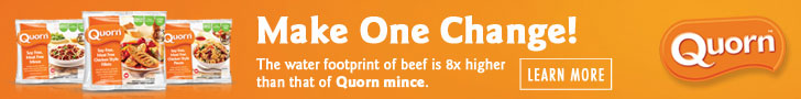 Quorn banner advert